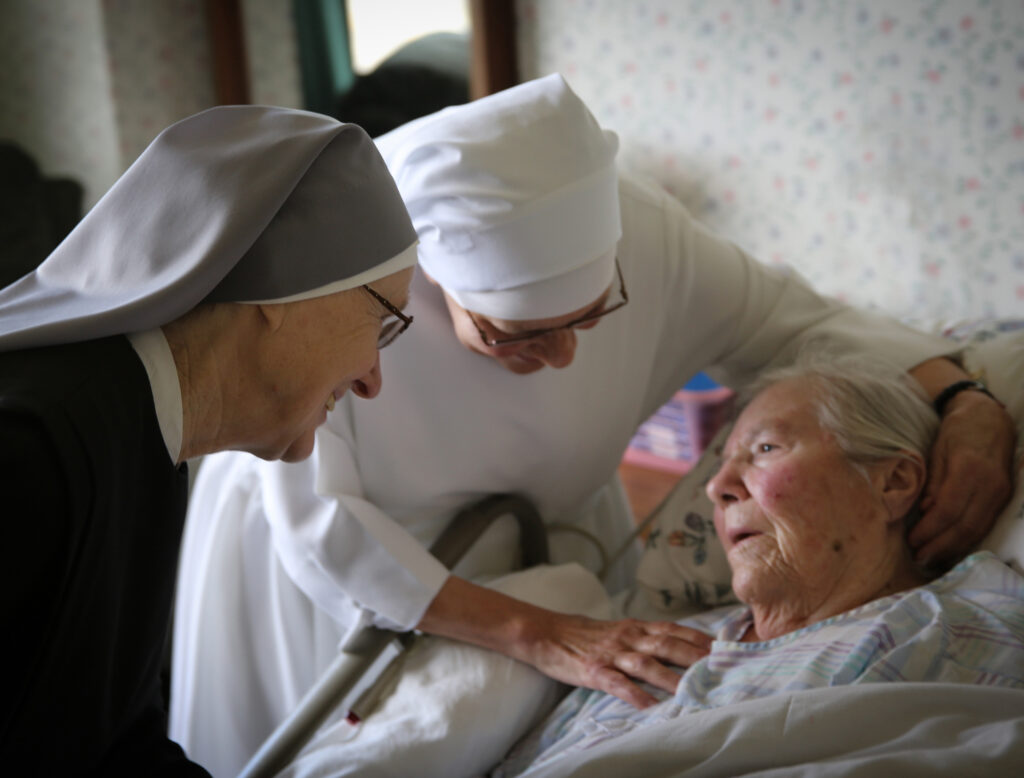 Little Sisters reflect on 'Samaritanus bonus' and our care of the dying