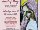 Pray with us right here for an end to COVID Saturday, June 12 @ 5 pm