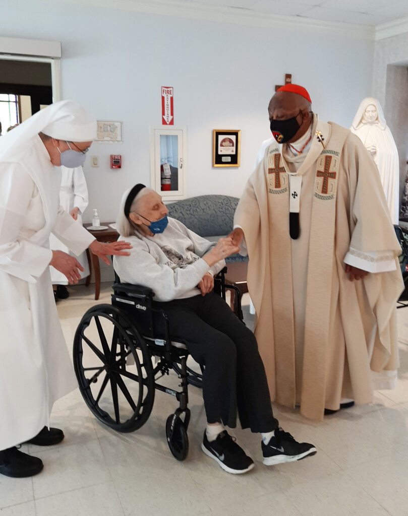 Little Sisters in DC celebrate 150th anniversary with Cardinal Gregory